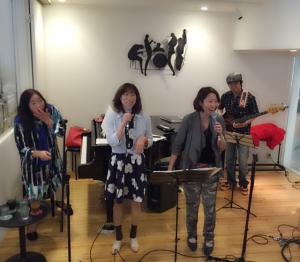 2015419西野薫予バンド